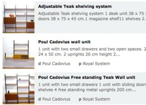 Cadovius shelving available via Design Addict's marketplace